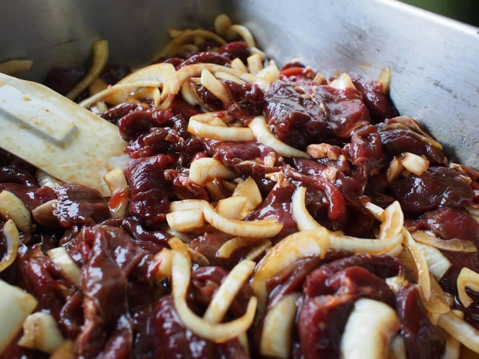 鹿肉(稲門祭)